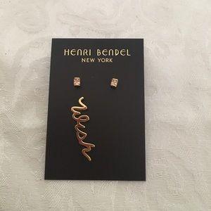 Henri Bendel earrings